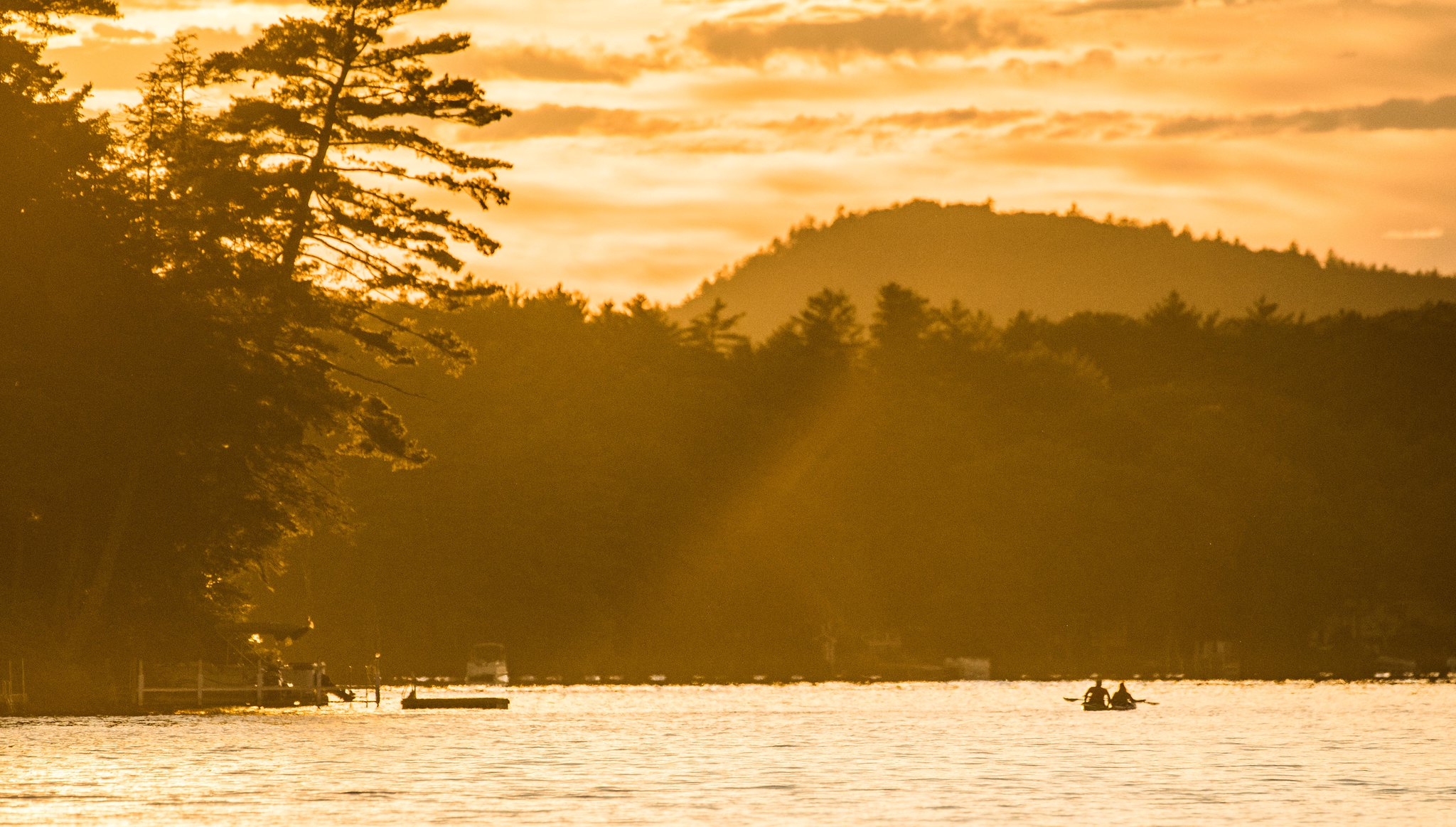 Scenic image of Lovell Lake, New Hampshire