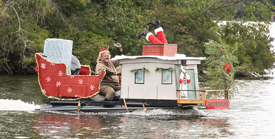 1st Place Entry in 2021 Lovell Lake Boat Parade