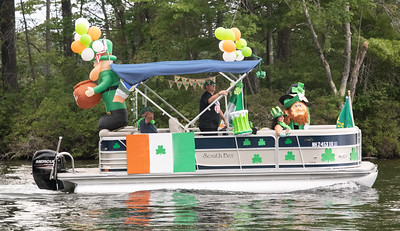 3rd Place Entry in 2021 Lovell Lake Boat Parade